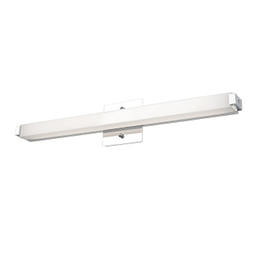 Kuzco Lighting Simplistic Chrome LED Bathroom Light - Vertical or Horizontal Mounting VL4721-CH