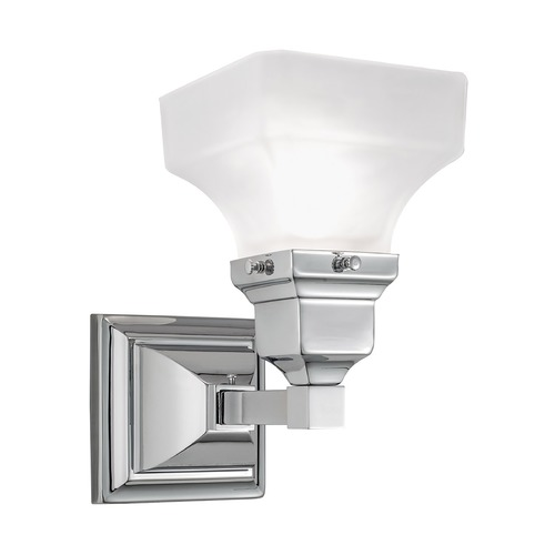 Norwell Lighting Norwell Lighting Birmingham Chrome Sconce 8121-CH-PY