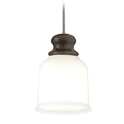 Hudson Valley Lighting Hudson Valley Lighting Riverton Old Bronze Mini-Pendant Light with Bell Shade 2321-OB