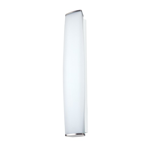 Besa Lighting Besa Lighting Miranda Satin Nickel Sconce MIRANDA26-SW-SN