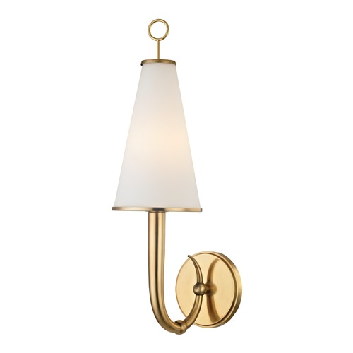 Hudson Valley Lighting Hudson Valley Lighting Colden Aged Brass Sconce 8200-AGB