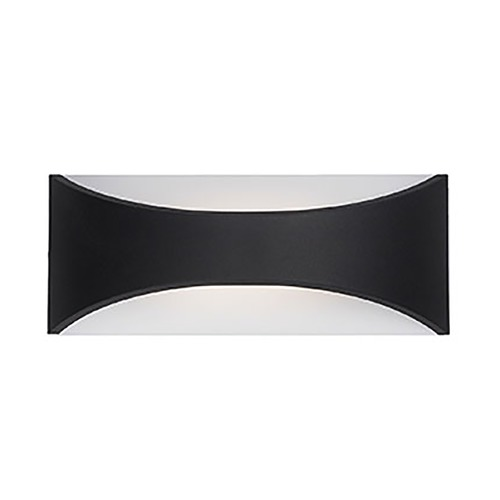 Kuzco Lighting Modern Black LED Outdoor Wall Light 3000K 181LM EW3609-BK