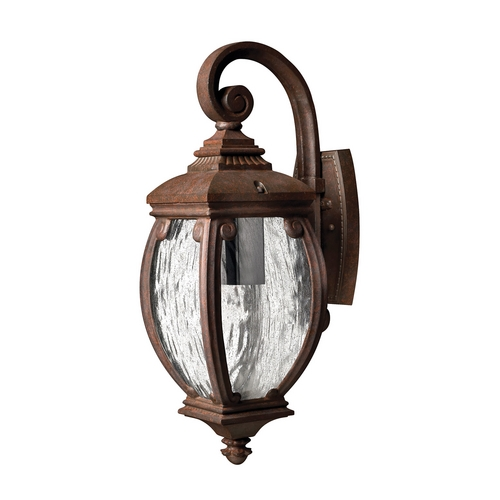 Hinkley Lighting Outdoor Wall Light with Clear Glass in French Bronze Finish 1940FZ