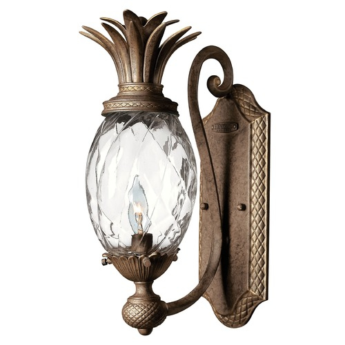 Hinkley 14-1/2 Inch Pearl Bronze Pineapple Wall Sconce 4140PZ