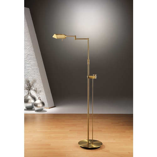 Holtkoetter Lighting Holtkoetter Modern Floor Lamp in Antique Brass Finish 6317SLD AB