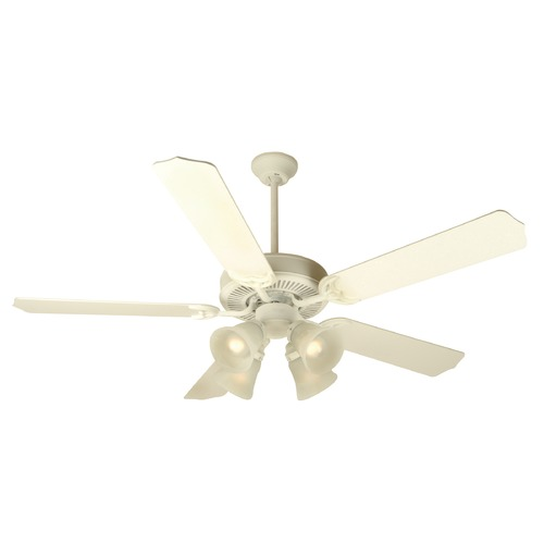 Craftmade Lighting Craftmade Pro Builder 203 Antique White Ceiling Fan with Light K10630