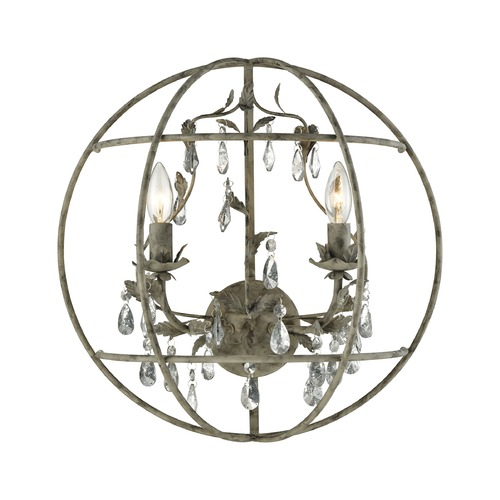 Elk Lighting Elk Lighting Bridget Marble Gray Sconce 18210/2