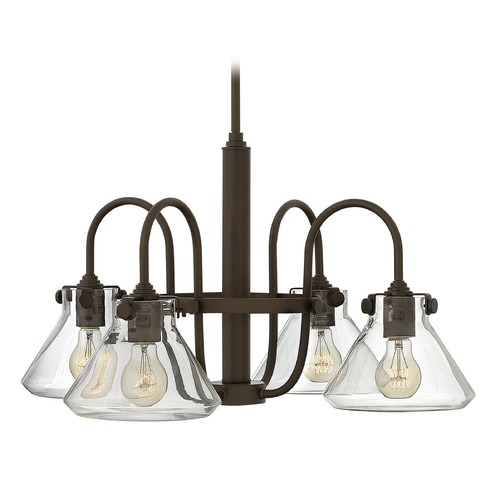 Hinkley Lighting Hinkley Lighting Congress Oil Rubbed Bronze Chandelier 3046OZ