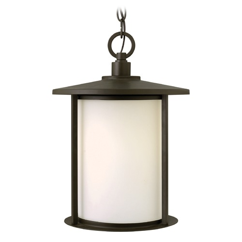 Hinkley Lighting Hinkley Lighting Hudson Oil Rubbed Bronze LED Outdoor Hanging Light 1912OZ-LED
