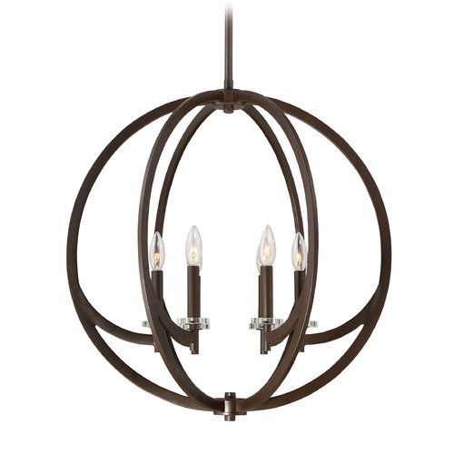 Quoizel Lighting Quoizel Lighting Orion Western Bronze Pendant Light ON2824WT