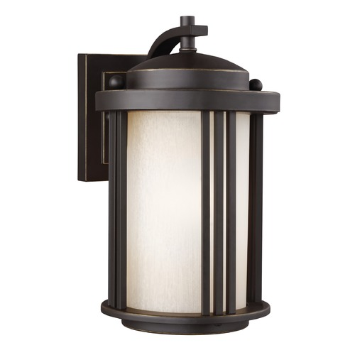 Sea Gull Lighting Sea Gull Crowell Antique Bronze Outdoor Wall Light 8547901-71