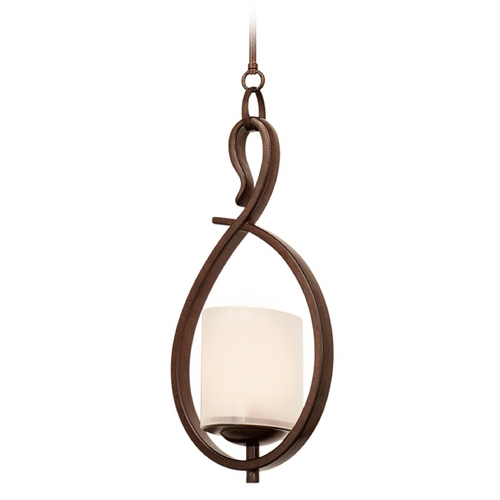 Kalco Lighting Kalco Lighting Stapleford Tuscan Sun Mini-Pendant Light with Oval Shade 2996TN