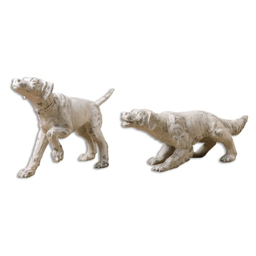 Uttermost Lighting Uttermost Hudson and Penny Dog Sculptures, Set of 2 19920
