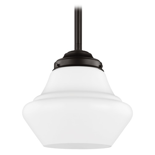 Feiss Lighting Feiss Lighting Alcott Oil Rubbed Bronze LED Pendant Light P1408ORB-LED