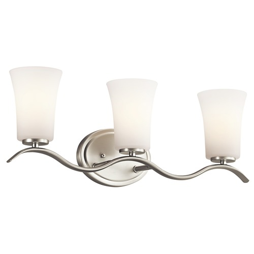 Kichler Lighting Kichler Lighting Armida Brushed Nickel LED Bathroom Light 45376NIL16