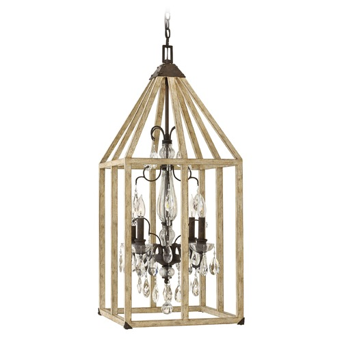 Hinkley Lighting Hinkley Lighting Emilie Iron Rust Pendant Light FR41214IRR