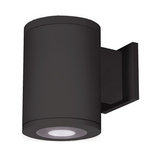 WAC Lighting 5-Inch Black LED Ultra Narrow Tube Architectural Up and Down Wall Light 3000K 413LM DS-WD05-U30B-BK