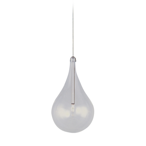 ET2 Lighting Modern Low Voltage Mini-Pendant Light with Clear Glass E94410-18SN