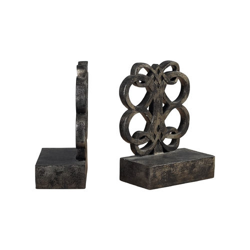 Sterling Lighting Decorative Bronze Bookends 93-9231