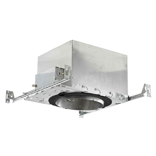 Recesso Lighting by Dolan Designs 6-Inch New Construction E26 Recessed Can Light IC & Airtight Slope Ceiling IC665