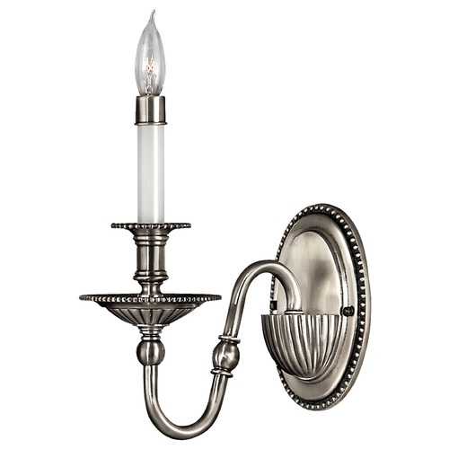 Hinkley Lighting Sconce Wall Light in Pewter Finish 4410PW