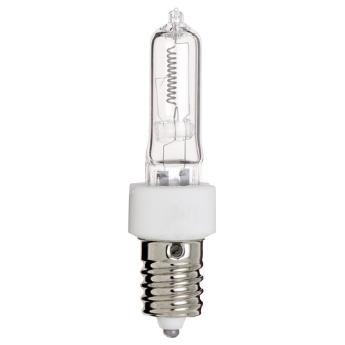 Satco Lighting Halogen Tube Light Bulb European Base 2900K 120V Dimmable S3134