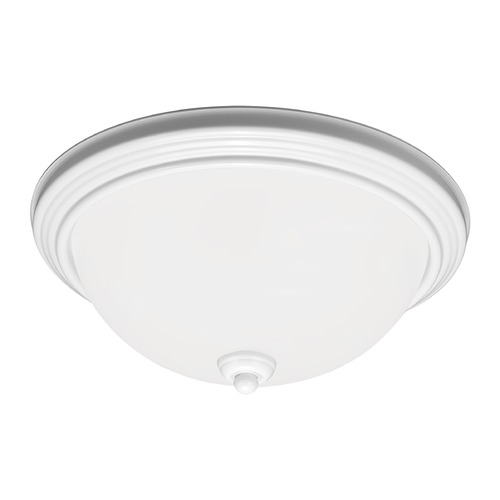 Sea Gull Lighting Sea Gull Lighting Ceiling Flush Mount White LED Flushmount Light 77063S-15