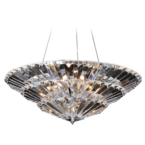 Allegri Lighting Auletta 24in Convertible Pendant / Semi-Flush 11426-010-FR001