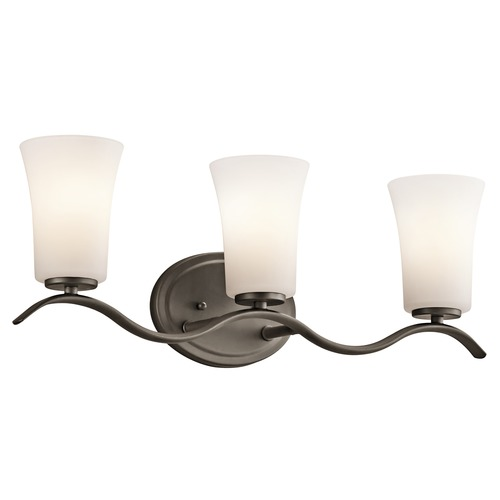 Kichler Lighting Kichler Lighting Armida Olde Bronze LED Bathroom Light 45376OZL16