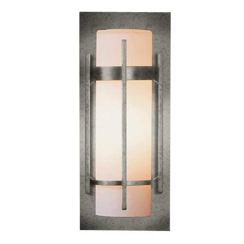 Hubbardton Forge Lighting Outdoor Wall Light in Iron Finish - 12-Inches Tall 305892-20-G66