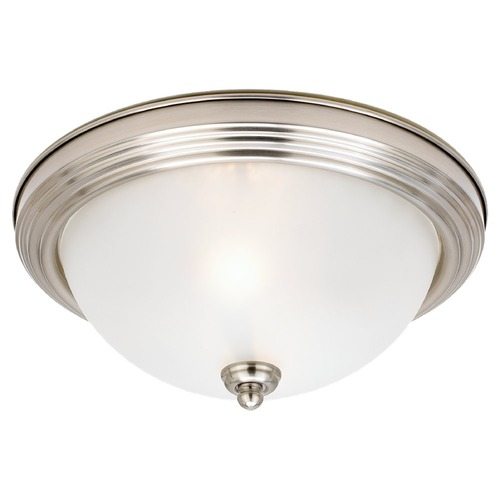 Sea Gull Lighting Sea Gull Lighting Ceiling Flush Mount Brushed Nickel LED Flushmount Light 77064S-962