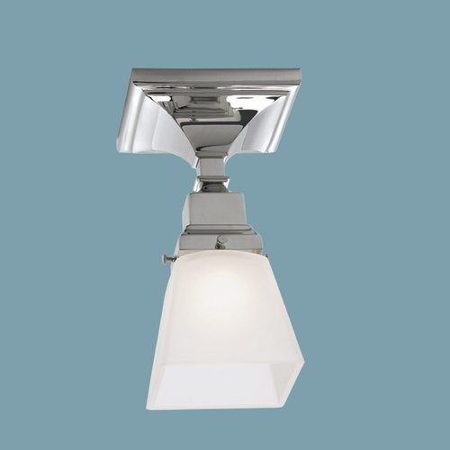 Norwell Lighting Norwell Lighting Birmingham Chrome Semi-Flushmount Light 8121F-CH-SQ