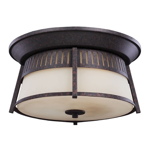 Sea Gull Lighting Sea Gull Lighting Hamilton Heights Oxford Bronze Close To Ceiling Light 7811703-746