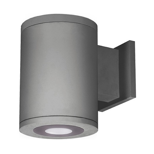 WAC Lighting 5-Inch Graphite LED Ultra Narrow Tube Architectural Up and Down Wall Light 3000K 413LM DS-WD05-U30B-GH