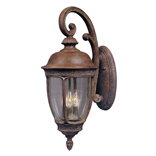 Maxim Lighting Maxim Lighting Knob Hill Dc Sienna Outdoor Wall Light 3464CDSE