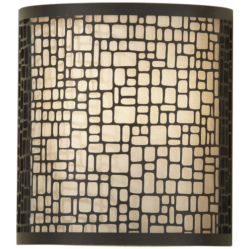 Feiss Lighting Modern Sconce Wall Light in Light Antique Bronze Finish WB1564LAB