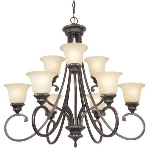 Dolan Designs Lighting Nine-Light Chandelier 1752-148