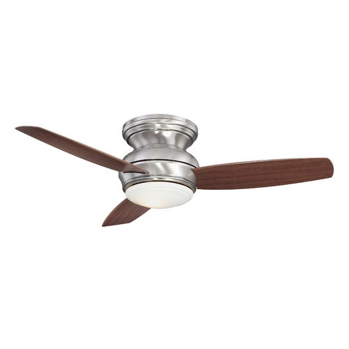 Minka Aire 44-Inch Wet Rated Ceiling Fan with Light Kit F593-PW
