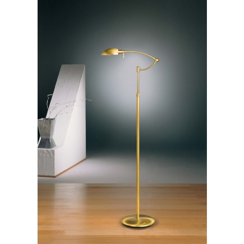 Holtkoetter Lighting Holtkoetter Modern Swing Arm Lamp in Antique Brass Finish 6450P1 AB