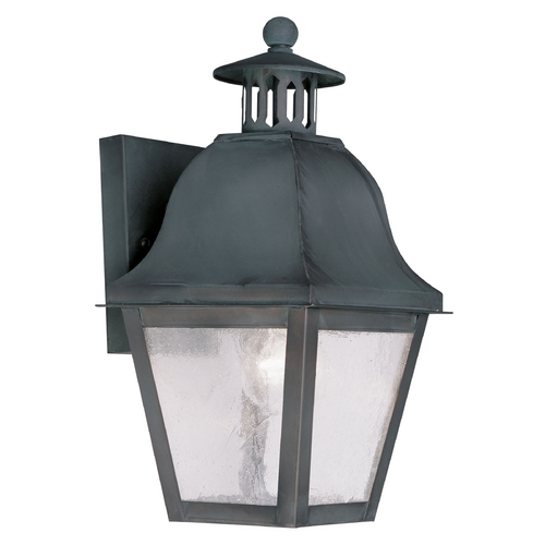 Livex Lighting Livex Lighting Amwell Charcoal Outdoor Wall Light 2550-61
