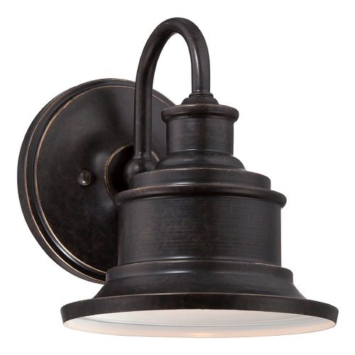 Quoizel Lighting Quoizel Seaford Imperial Bronze Outdoor Wall Light SFD8407IBFL