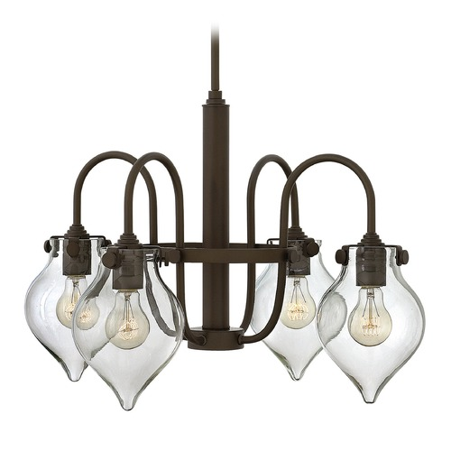 Hinkley Lighting Hinkley Lighting Congress Oil Rubbed Bronze Chandelier 3047OZ