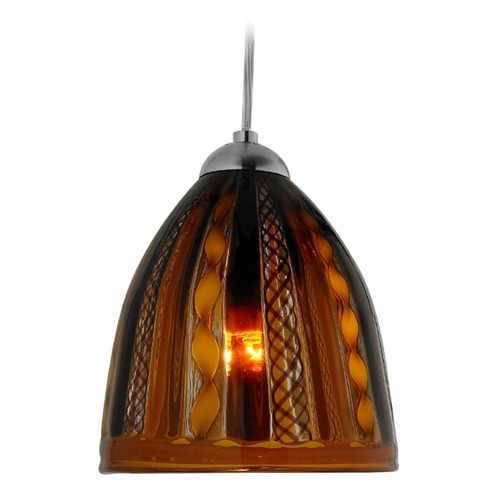 Oggetti Lighting Oggetti Elan Dark Bronze Mini-Pendant Light with Bowl / Dome Shade 79-628E