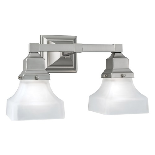 Norwell Lighting Norwell Lighting Birmingham Brush Nickel Bathroom Light 8122-BN-PY
