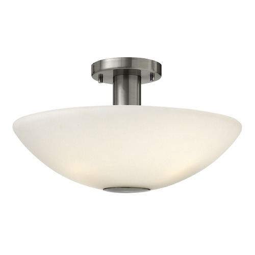 Hinkley Lighting Hinkley Lighting Camden Brushed Nickel LED Semi-Flushmount Light 3341BN-LED