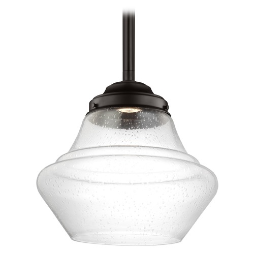Feiss Lighting Feiss Lighting Alcott Oil Rubbed Bronze LED Pendant Light P1409ORB-LED