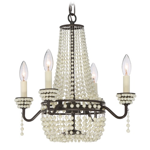 Quoizel Lighting Quoizel Lighting Opera Western Bronze Mini-Chandelier OPA5304WT
