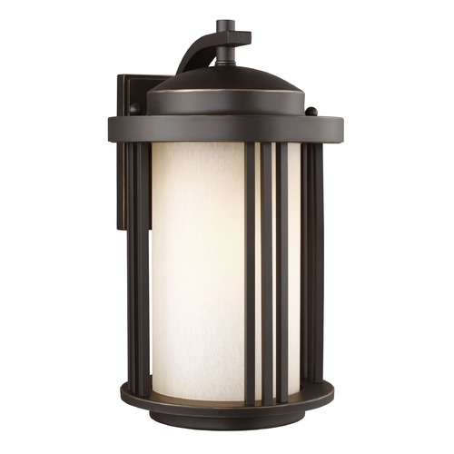 Sea Gull Lighting Sea Gull Crowell Antique Bronze Outdoor Wall Light 8747901-71