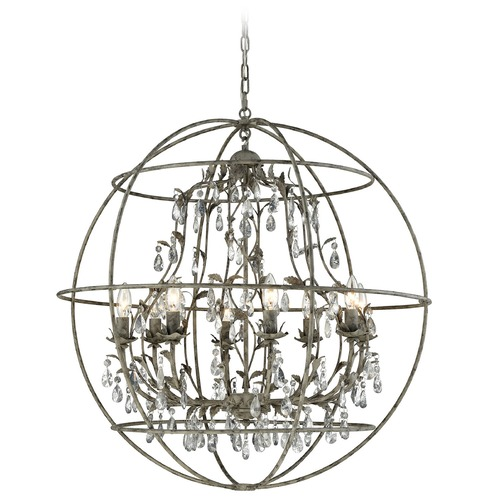 Elk Lighting Elk Lighting Bridget Marble Gray Chandelier 18215/8