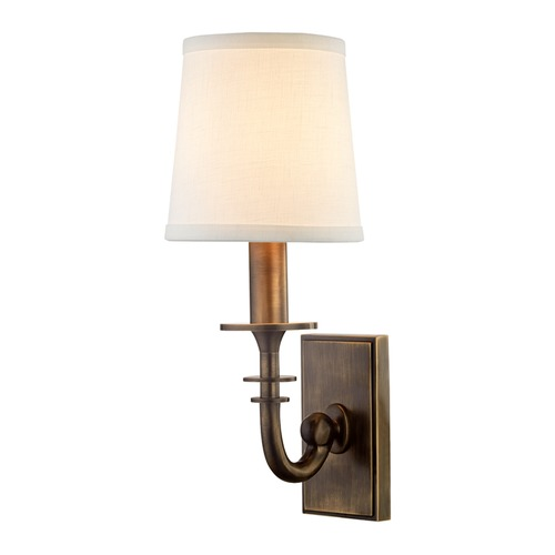 Hudson Valley Lighting Hudson Valley Lighting Carroll Distressed Bronze Sconce 8400-DB